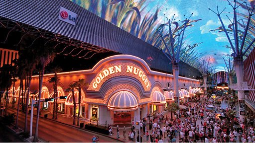 Stay at Golden Nugget Hotel and Casino