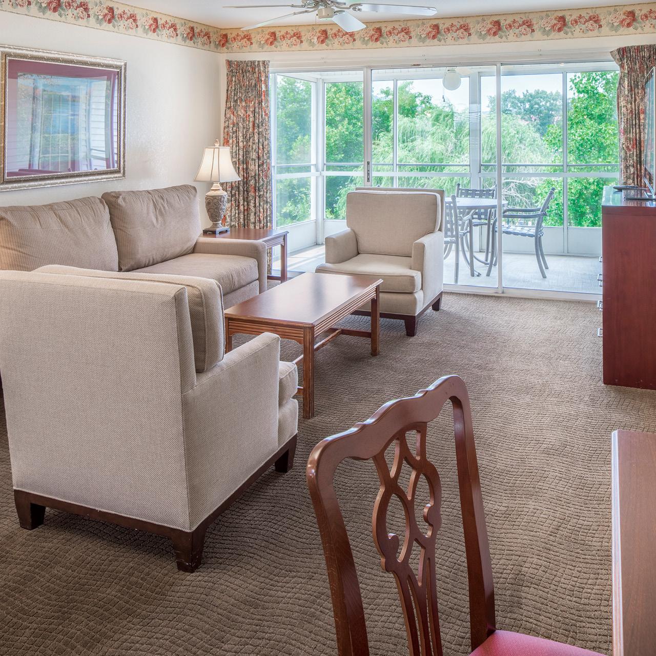 1-bedroom Living Area