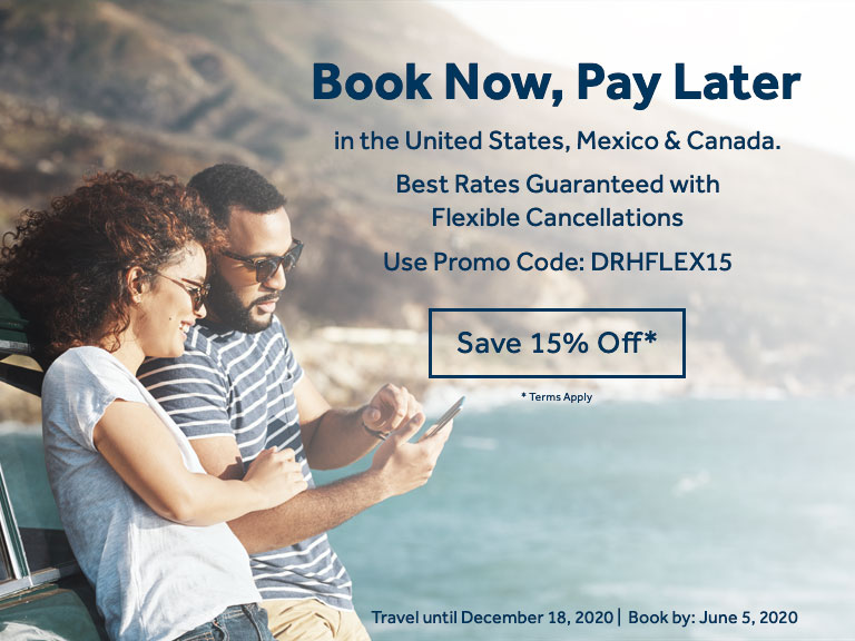 Save 15% Off Your Next Vacation!
