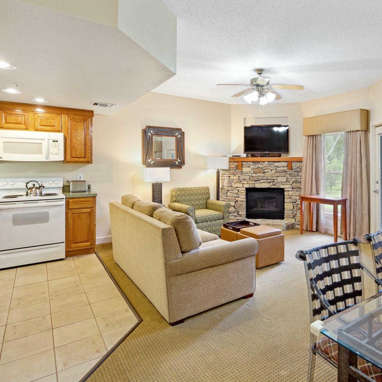 Bent Creek interior 1-bedroom