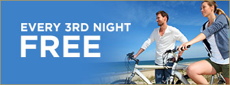Stay 3 nights for the price of 2 nights