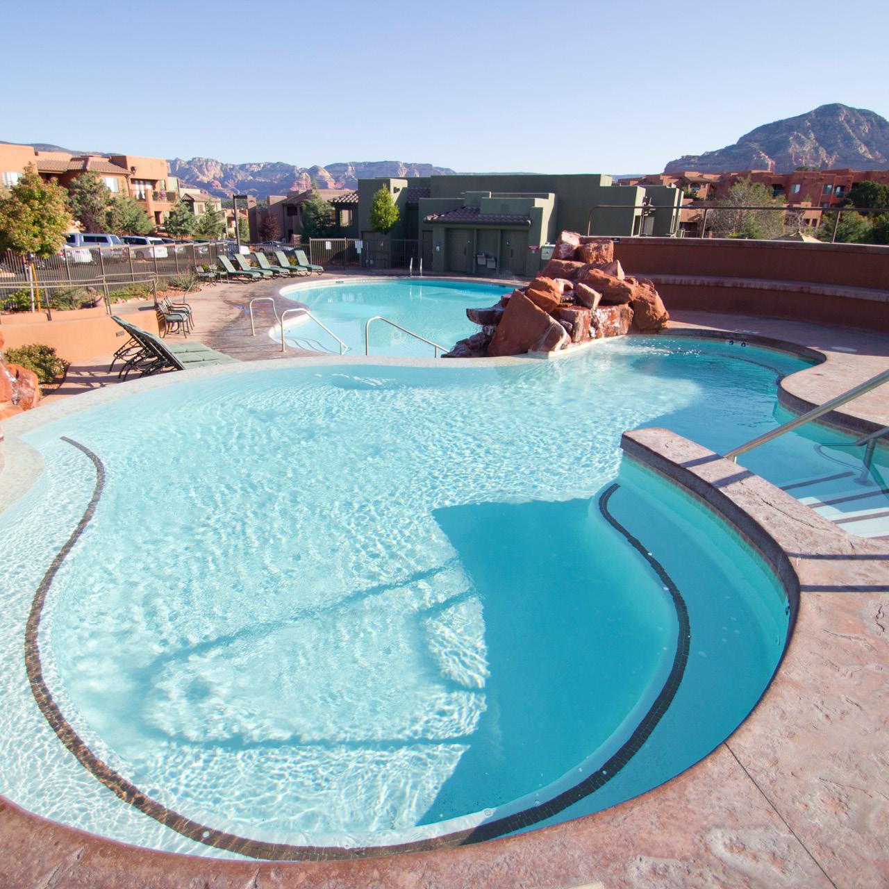 Sedona Summit Pool Area