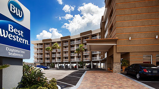 Stay at Best Western Daytona Inn Seabreeze