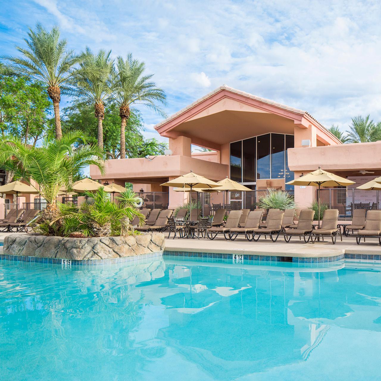 Scottsdale Villa Mirage Outdoor Pool