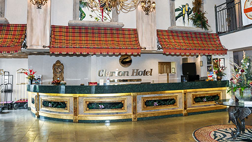 Stay at Clarion Hotel at the Palace
